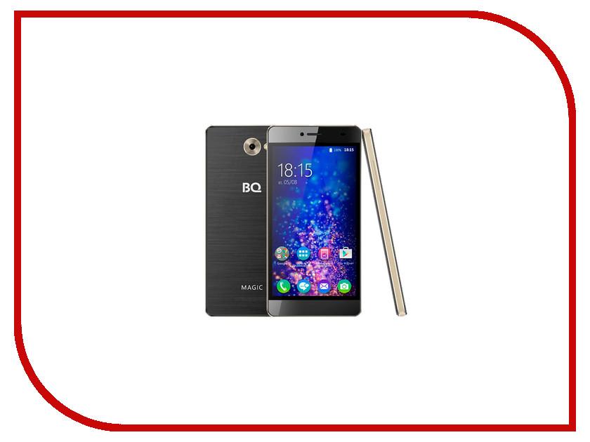 Сотовый телефон BQ BQS-5070 Magic LTE Black-Gold<br>