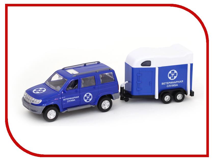 Игрушка Авто по-Русски Ветеринарная служба 10608АПР