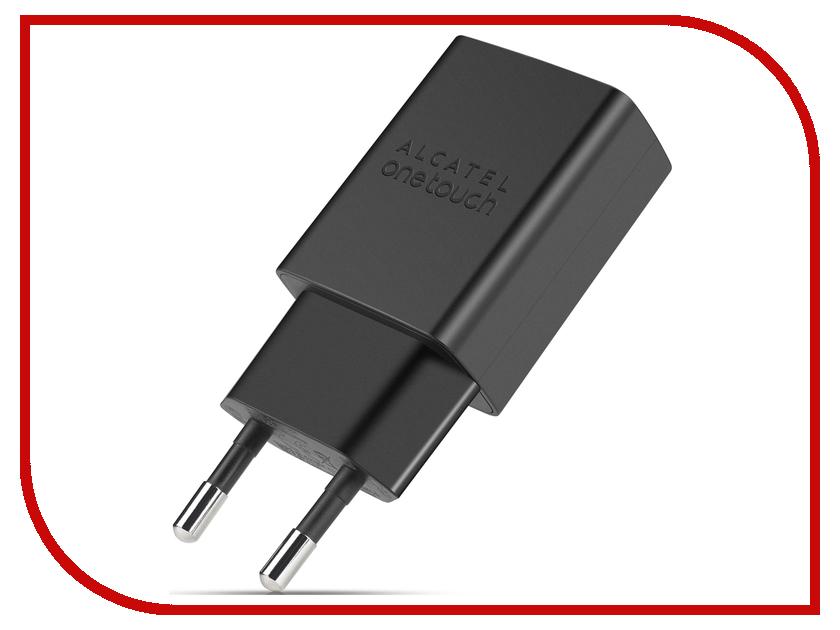 Зарядное устройство Alcatel UC11 5V 1A Black ALC-UC11-2AALRU1