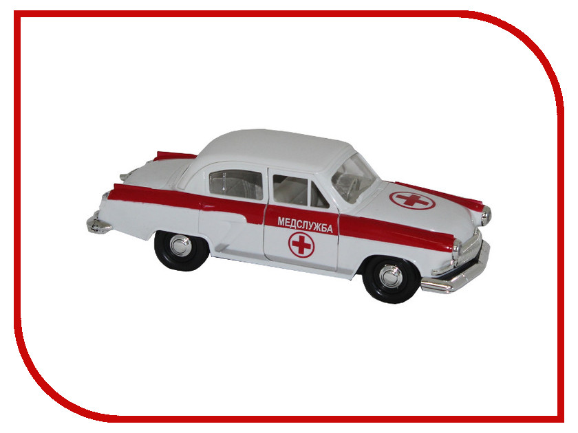 Игрушка Авто по-Русски Медслужба 10802АПР