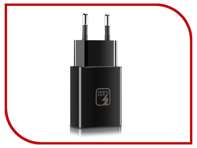 Зарядное устройство Alcatel QC10 QuickCharger 9V 1.67A Black ALC-QC10-2AALRU1<br>