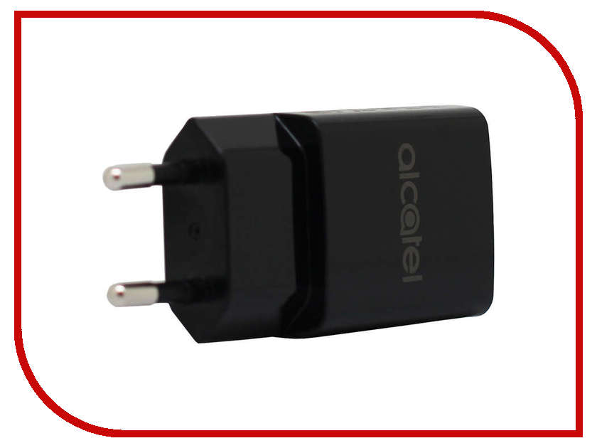Зарядное устройство Alcatel QC11 QuickCharger 9V 1.67A Black ALC-QC11-3AALRU1<br>