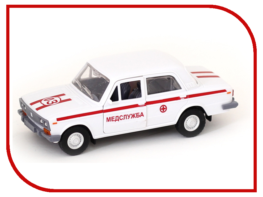 Игрушка Авто по-Русски Скорая помощь 11503АПР