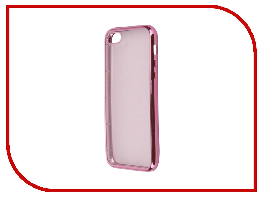 Аксессуар Чехол для APPLE iPhone 5 / 5S / SE iBox Blaze Pink red line ibox crystal чехол для iphone 5 5s se clear