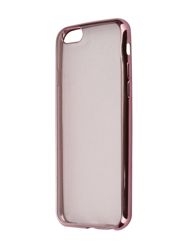 Аксессуар Чехол iBox для APPLE iPhone 6 / 6S Blaze Pink аксессуар чехол для apple iphone 5 5s se ibox blaze pink