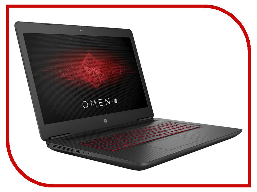 Ноутбук HP Omen 17-w102ur Y5V57EA Intel Core i7-6700HQ 2.6 GHz/16384Mb/1000Gb + 256Gb SSD/No ODD/nVidia GeForce GTX 1070 8192Mb/Wi-Fi/Bluetooth/Cam/17.3/3840x2160/Windows 10 64-bit
