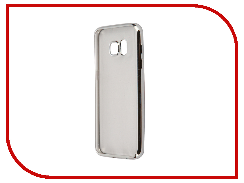 Аксессуар Чехол Samsung Galaxy S7 iBox Blaze Silver клип кейс ibox blaze для samsung galaxy j3 2016 черный