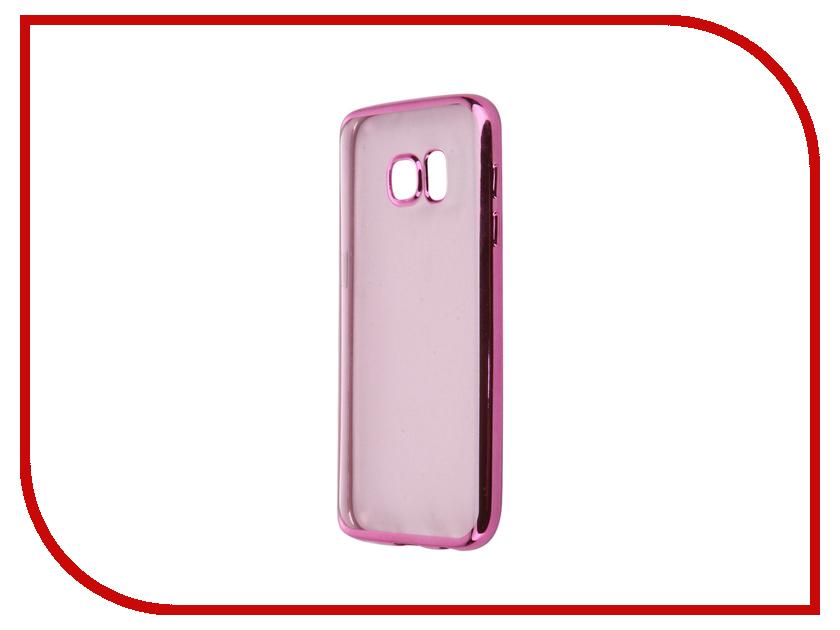 Аксессуар Чехол Samsung Galaxy S7 iBox Blaze Pink