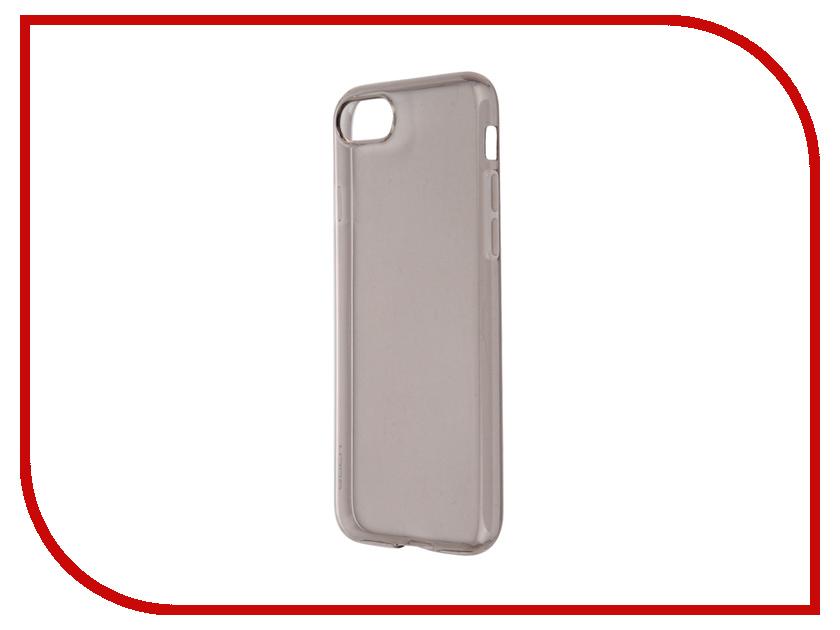 Аксессуар Чехол ROCK Slim Jacket для APPLE iPhone 7 Transparent-Black 37391<br>