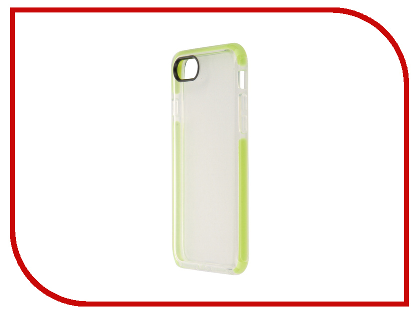 Аксессуар Чехол ROCK Guard для APPLE iPhone 7 Transparent-Green 38503<br>