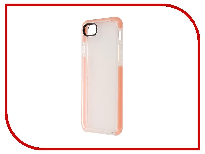 Аксессуар Чехол ROCK Guard для APPLE iPhone 7 Transparent-Pink 38510<br>