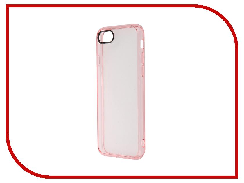 Аксессуар Чехол ROCK Pure для APPLE iPhone 7 Transparent-Pink 37070<br>