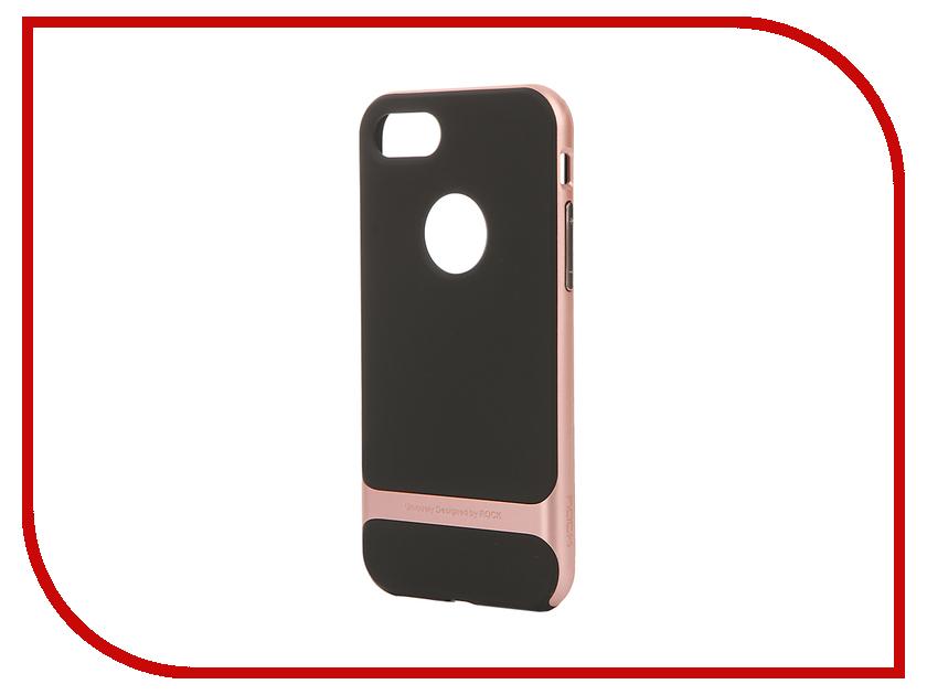 Аксессуар Чехол ROCK Royce для APPLE iPhone 7 Pink-Gold 37247<br>