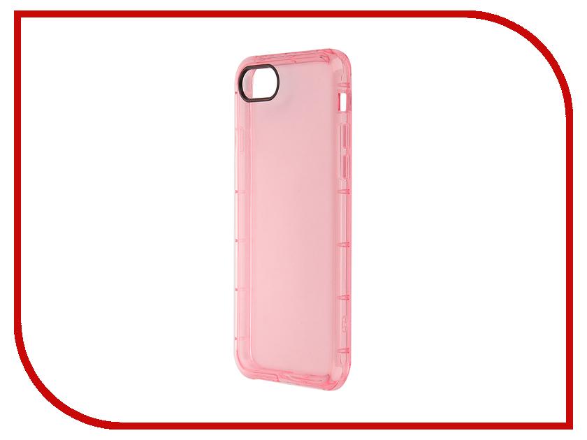 Аксессуар Чехол ROCK Fence для APPLE iPhone 7 Transparent-Pink 37339<br>