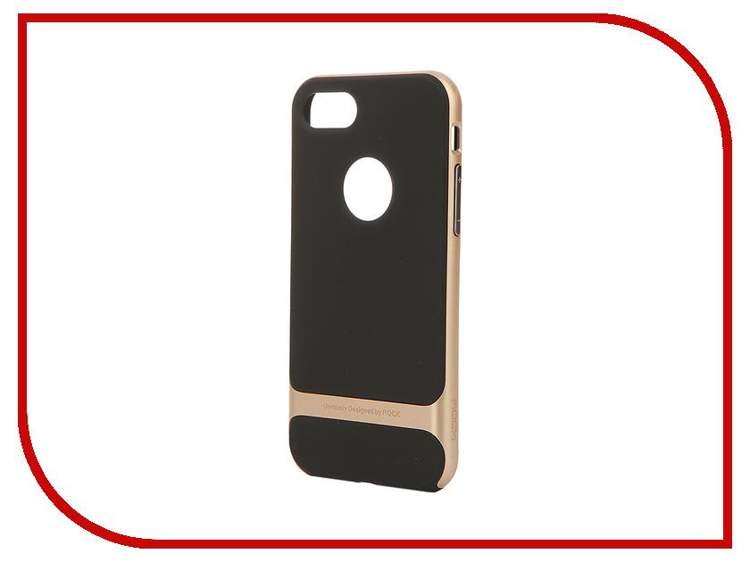 Аксессуар Чехол ROCK Royce для APPLE iPhone 7 Gold 37230<br>