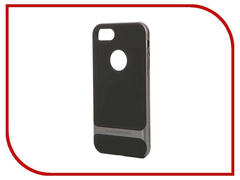 Аксессуар Чехол ROCK Royce для APPLE iPhone 7 Grey 37223<br>