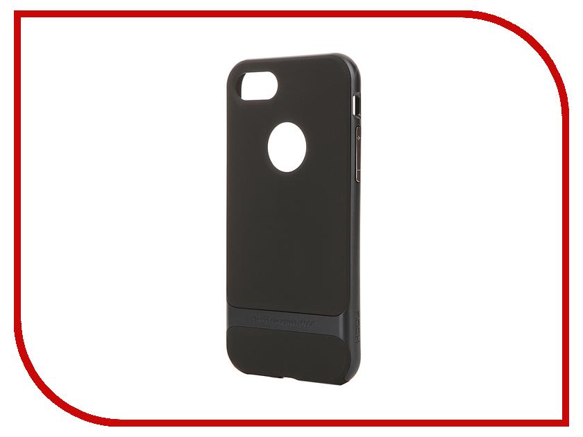 Аксессуар Чехол ROCK Royce для APPLE iPhone 7 Dark Blue 37216<br>