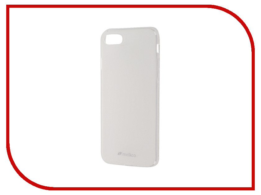 Аксессуар Чехол Melkco TPU для iPhone 7 матовый Transparent 12586<br>
