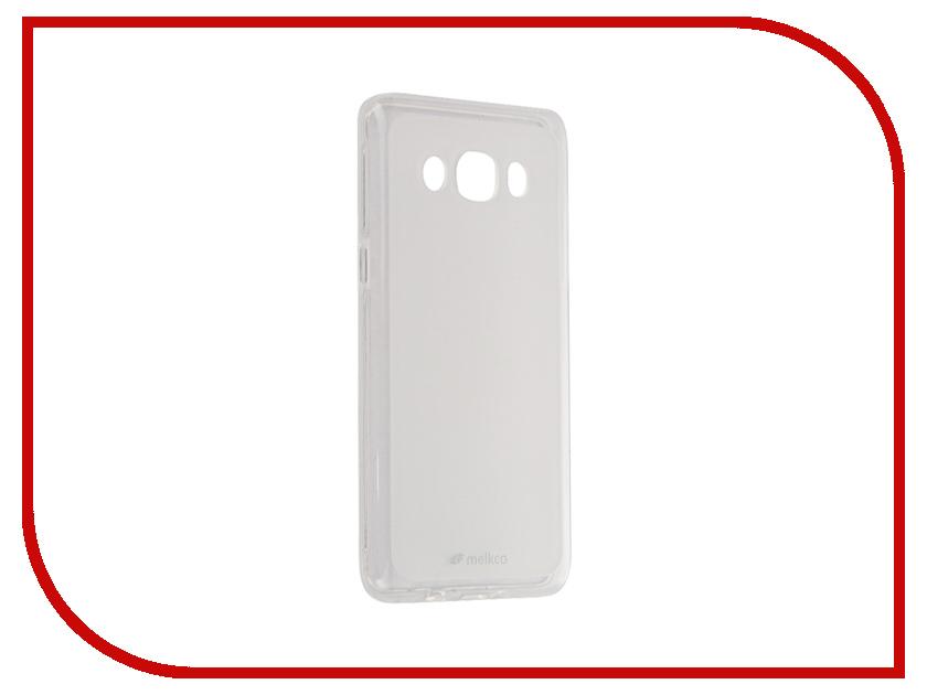 Аксессуар Чехол Samsung Galaxy J5 (2016) Melkco TPU матовый Transparent 12588<br>