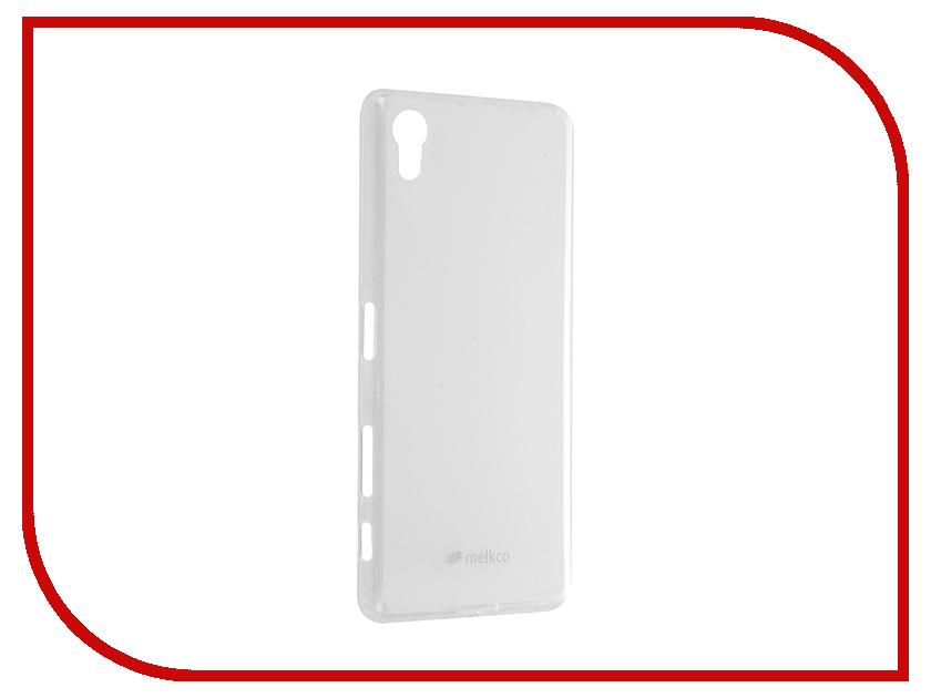 Аксессуар Чехол Sony Xperia X Dual Melkco TPU матовый Transparent 12590<br>