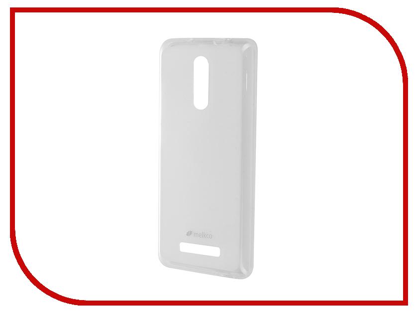 Аксессуар Чехол Xiaomi Redmi Note 3 Melkco TPU матовый Transparent 12589<br>