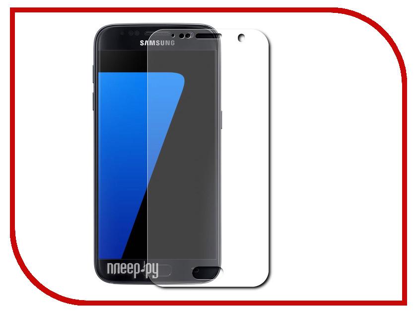 Аксессуар Защитное стекло Samsung Galaxy S7 Smarterra Silk Print Full Cover Glass Gold SSPFCGS7GD<br>