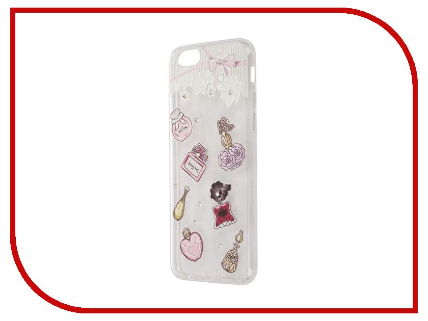 Аксессуар Чехол Smarterra Rhinestomes для APPLE iPhone 6 / 6S Transparent парфюм SRSC004TP<br>