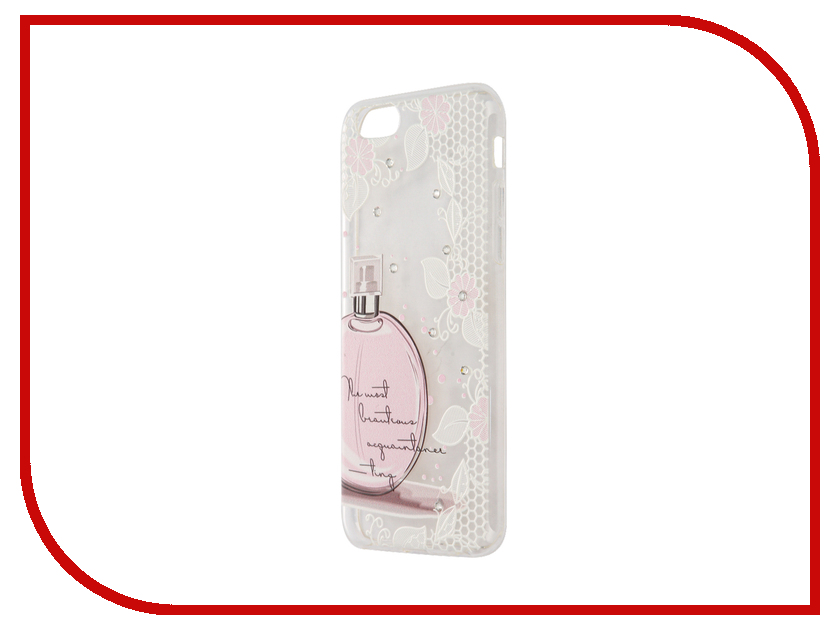 Аксессуар Чехол Smarterra Rhinestomes для APPLE iPhone 6 / 6S Transparent парфюм SRSC003TP<br>