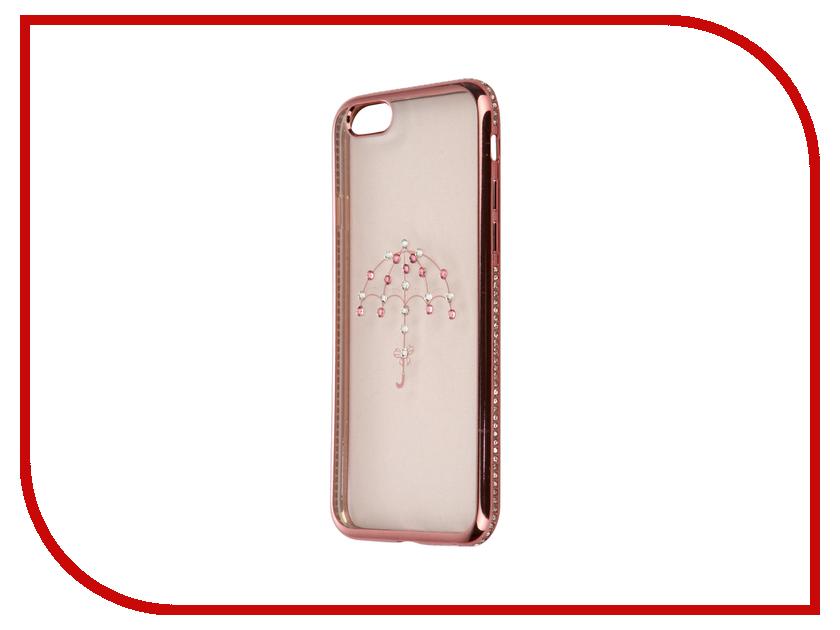 Аксессуар Чехол Smarterra Rhinestones для APPLE iPhone 6 / 6S Transparent зонт SRSC001TP<br>