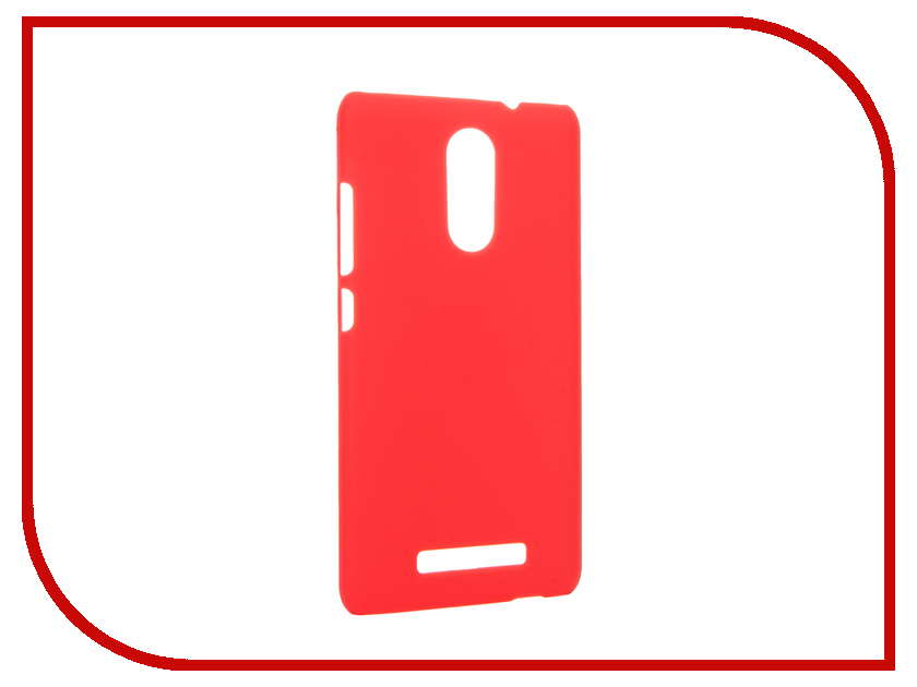 Аксессуар Чехол Xiaomi Redmi Note 3 Smarterra Hardback Red SHBCXRN3RD<br>