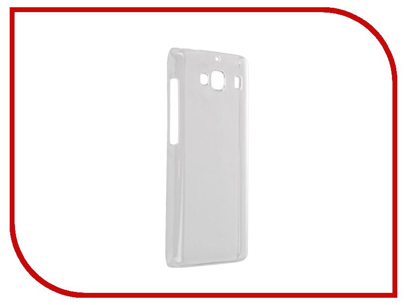 Аксессуар Чехол Xiaomi Redmi 2 Smarterra Hardback Transparent SHBCXRM2TP аксессуар smarterra str al001m black