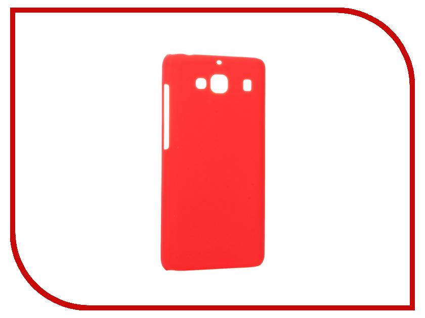 Аксессуар Чехол Xiaomi Redmi 2 Smarterra Hardback Red SHBCXRM2RD<br>