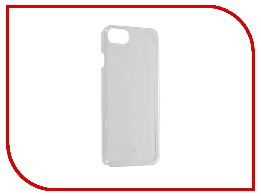 Аксессуар Чехол Muvit Crystal Case для APPLE iPhone 7 Transparent MUCRY0136<br>