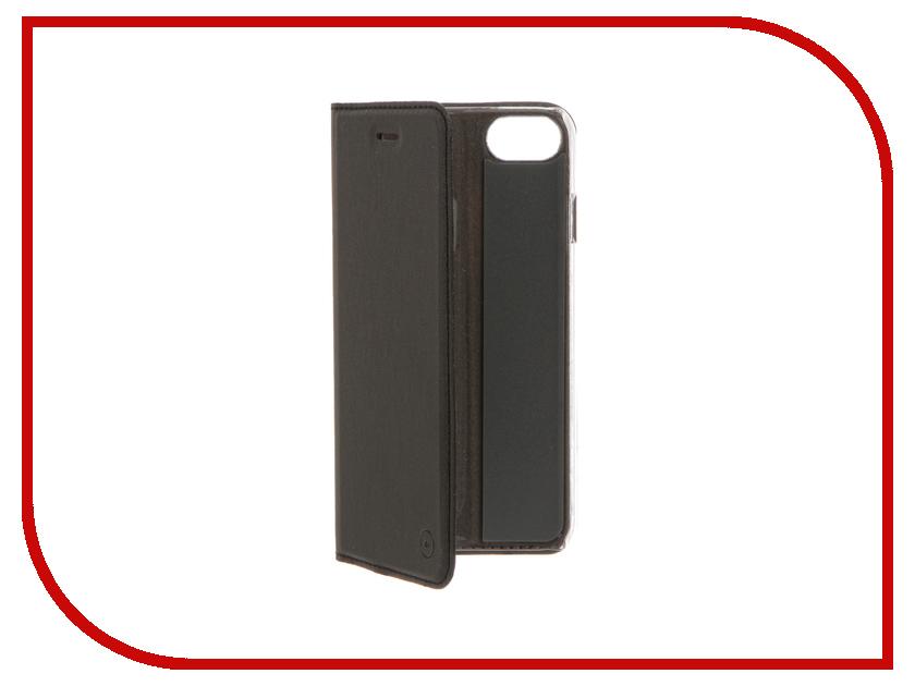 Аксессуар Чехол Muvit Folio Stand для APPLE iPhone 7 Black MUFLS0045 аксессуар чехол книжка iphone 6 plus muvit wallet folio stand case black musns0073
