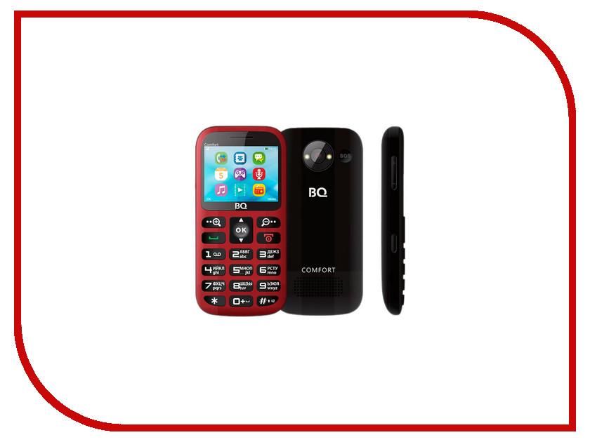 Сотовый телефон BQ BQM-2300 Comfort Red ноутбук dell inspiron 5567 7881 intel core i3 6006u 2000 mhz 15 6 1366x768 4096mb 1000gb hdd dvd rw amd radeon r7 m440 wifi linux