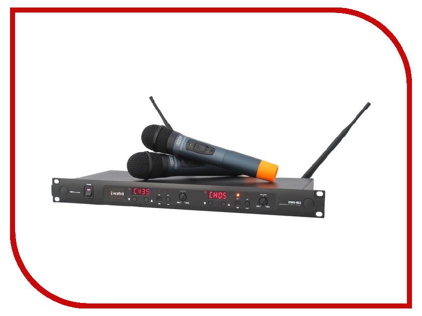 Радиомикрофон ProAudio DWS-822HT<br>