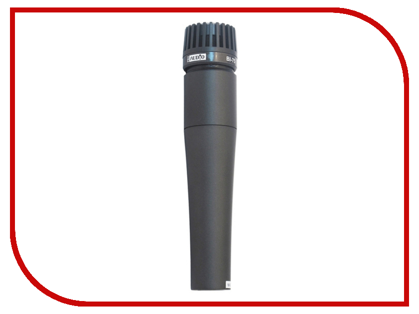 Микрофон ProAudio BI-75 вокальный микрофон proaudio md 50