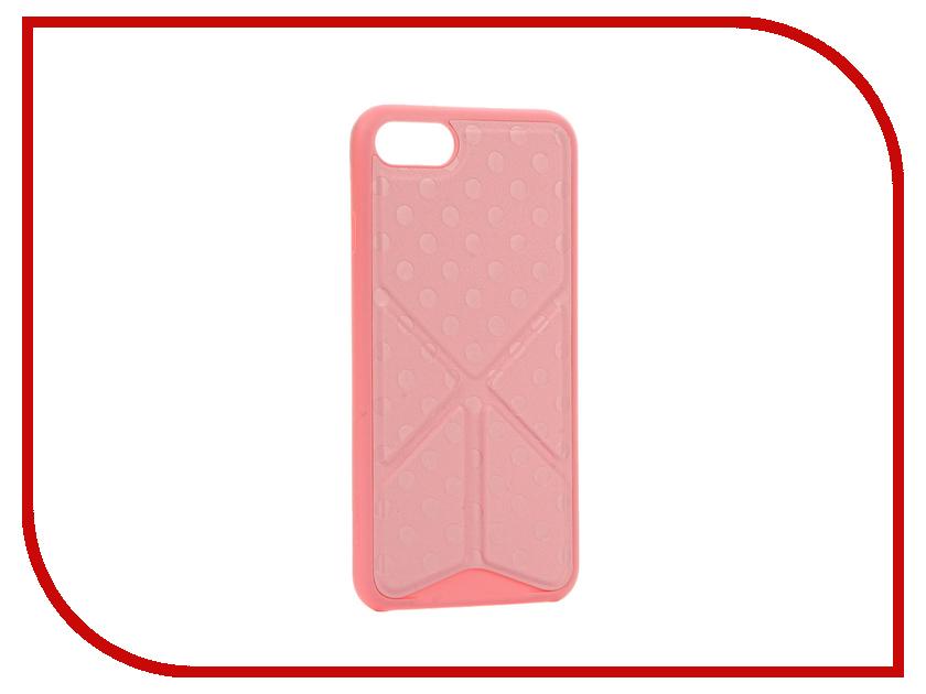 Аксессуар Чехол Ozaki O!Coat 0.3 + Totem Versatile для APPLE iPhone 7 Pink OC777PK<br>