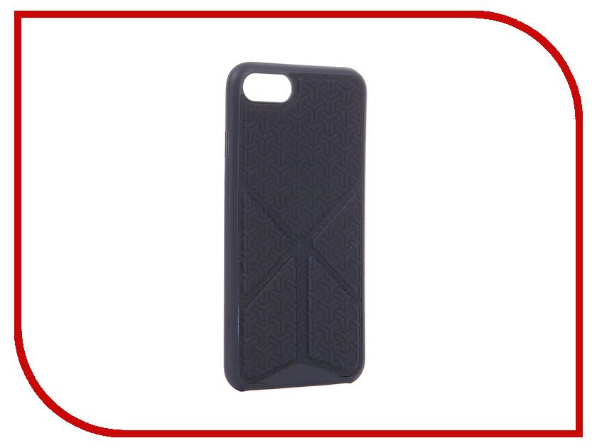 Аксессуар Чехол Ozaki O!Coat 0.3 + Totem Versatile для APPLE iPhone 7 Dark Blue OC777DB<br>