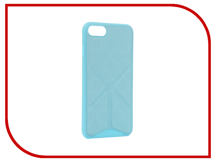 Аксессуар Чехол Ozaki O!Coat 0.3 + Totem Versatile для APPLE iPhone 7 Blue OC777BU ozaki аксессуар для техники