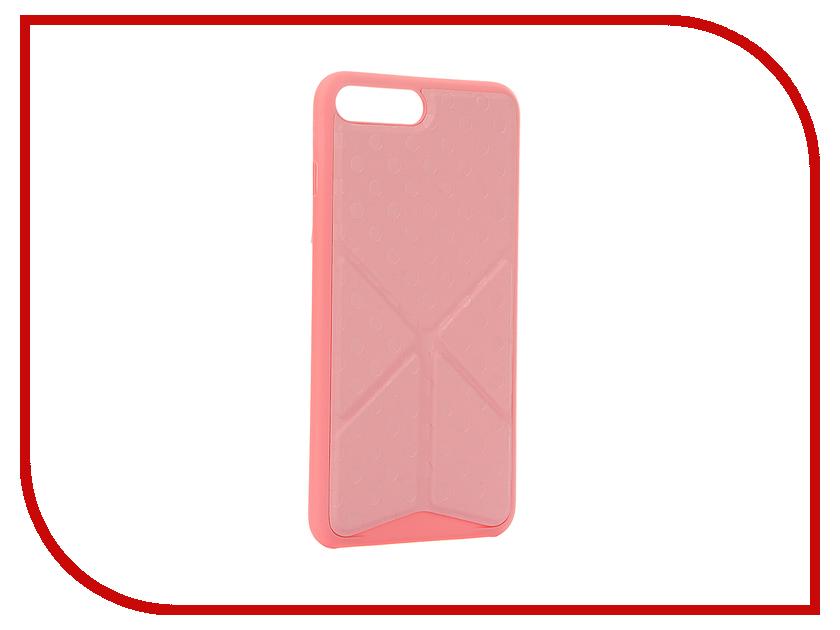 Аксессуар Чехол Ozaki O!Coat 0.4 + Totem Versatile для APPLE iPhone 7 Plus Pink OC745PK<br>