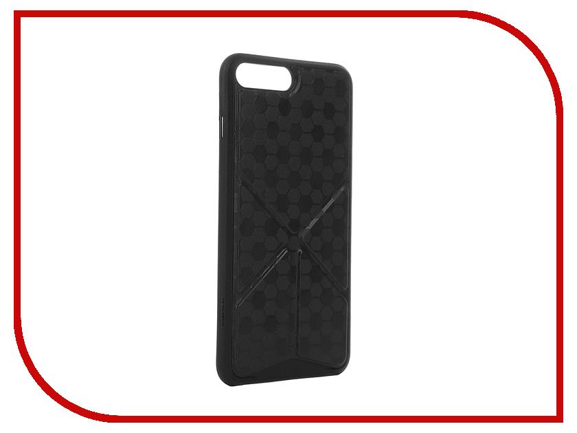 Аксессуар Чехол Ozaki O!Coat 0.4 + Totem Versatile для APPLE iPhone 7 Plus Black OC745BK<br>