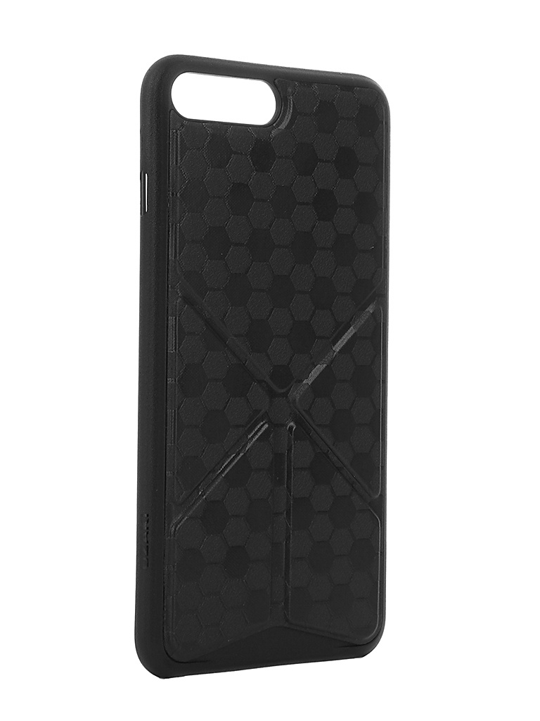 Аксессуар Чехол Ozaki O!Coat 0.4 + Totem Versatile для APPLE iPhone 7 Plus Black OC745BK от Pleer