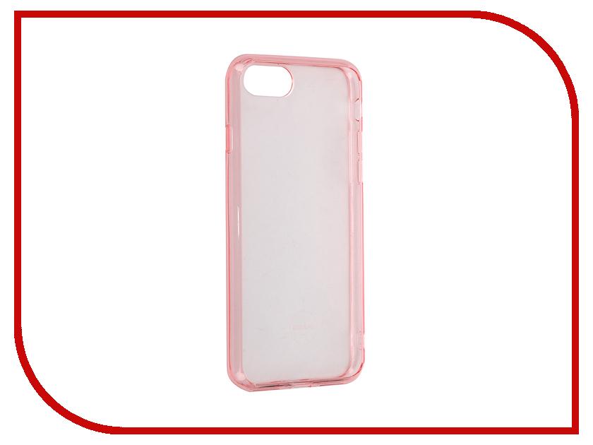 Аксессуар Чехол Ozaki O!Coat Crystal + для APPLE iPhone 7 Transparent-Pink OC739PK<br>