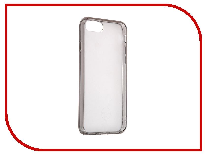Аксессуар Чехол Ozaki O!Coat Crystal + для APPLE iPhone 7 Transparent-Black OC739BK<br>