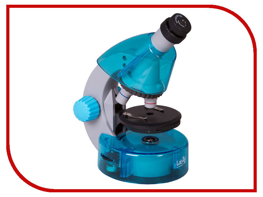 Детский микроскоп Levenhuk LabZZ M101 Azure 69301 наборы для творчества levenhuk микроскоп labzz m2