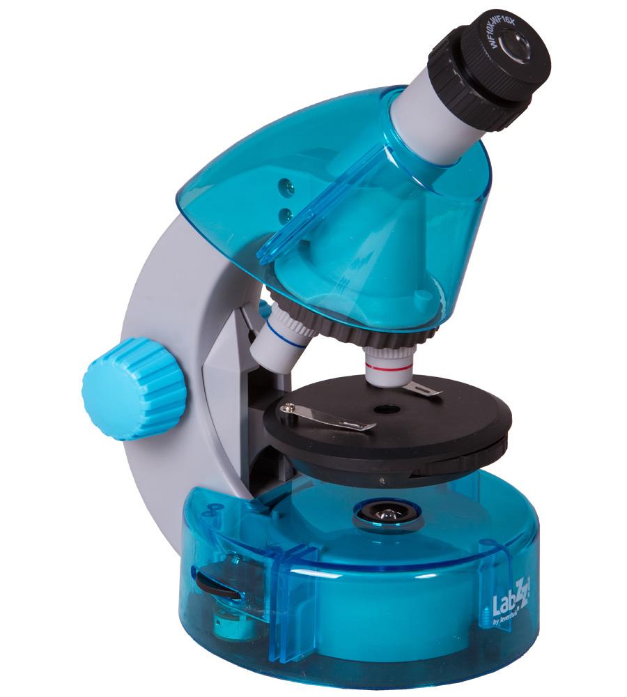 Микроскоп Levenhuk LabZZ M101 Azure 69301
