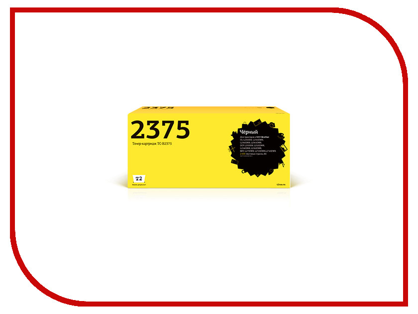 Картридж T2 TC-B2375 для HL-L2300DR/L2340DWR/DCP-L2500DR/L2520DWR/MFC-L2700WR алмазная пила кратон tc 10
