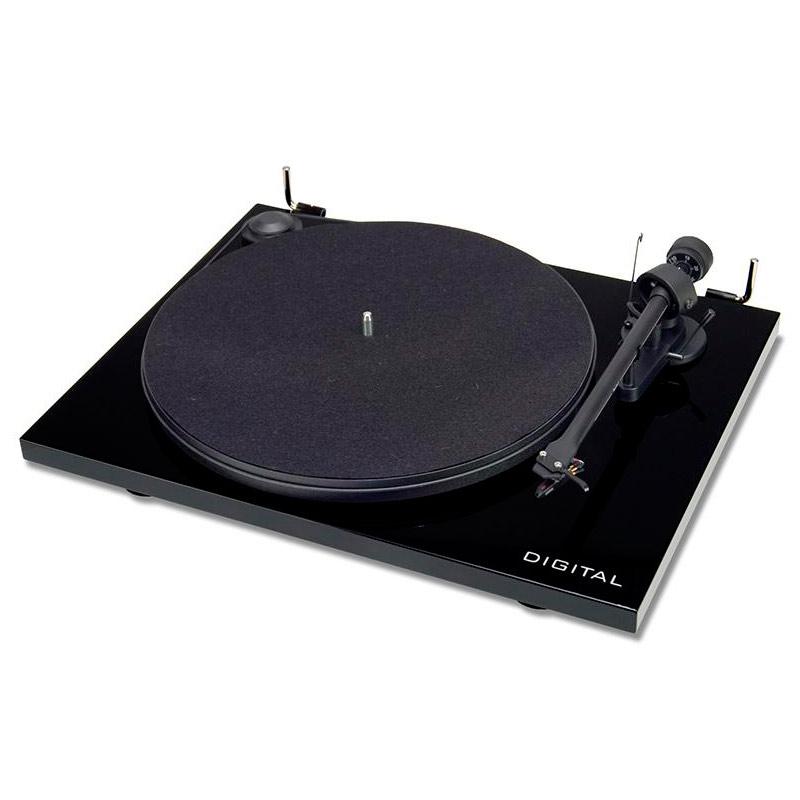 лучшая цена Проигрыватель виниловых дисков Pro-Ject Essential II Digital Piano Black