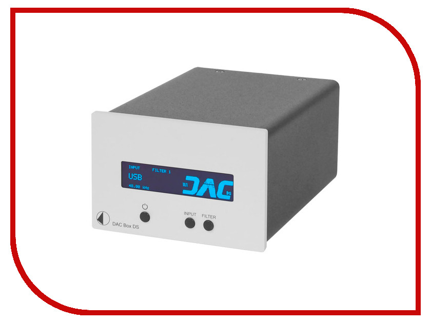 ЦАП Pro-Ject DAC BOX DS Silver<br>
